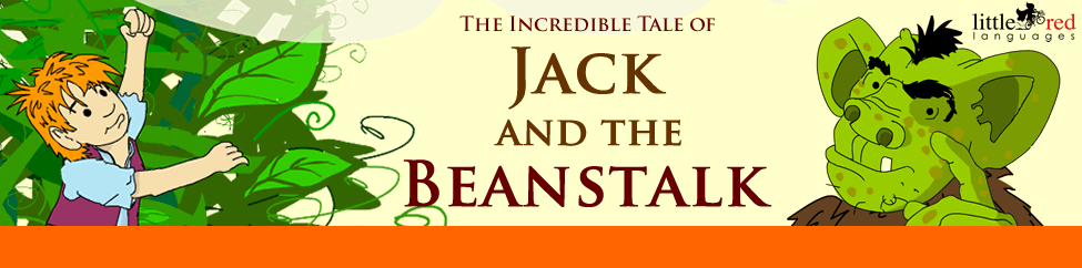 Jack and the Beanstalk | English story | Little Red Languages