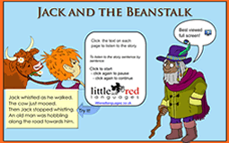 Jack and the Beanstalk Smart Notebook